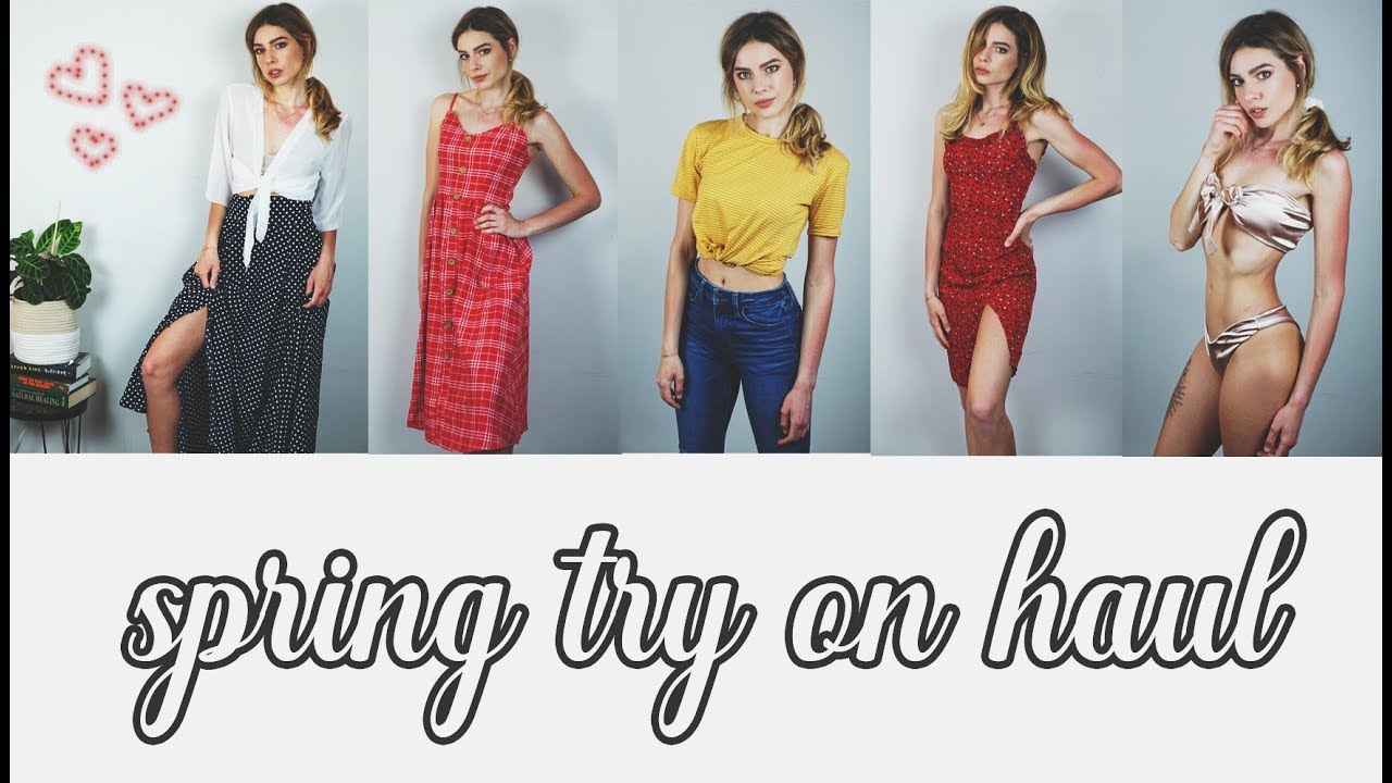 CASUAL TRY ON CLOTHING HAUL – SHEIN || SPRING 2019