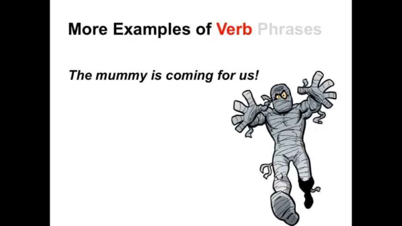 Verbs And Verb Phrases Parts Of Speech App Youtube