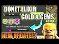 Gambar cover NEW UPDATE?; DONATE ELIXIR GOLD & GEMS TO YOUR CLANMATES - 3 NEW UPDATE CONCEPT