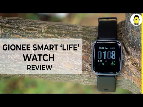 "Gionee Smart ""Life"" Watch Review: Is It The Best Smartwatch For Rs 3,000?"