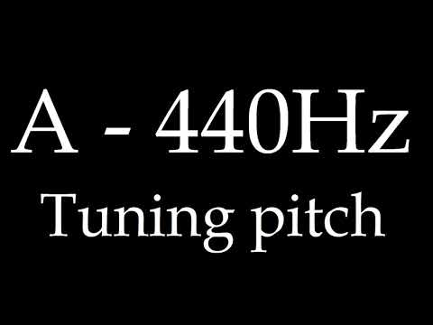A440  tuning pitch 1hour