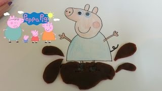 How To Draw George Pig Step By Step & Play Doh Decorate