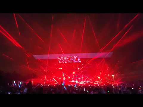 The Chainsmokers @ Weekend Festival Finland 2017 - Laser Show