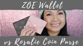 Video Louis Vuitton Zoe Wallet vs Rosalie Coin Purse | Love Your Melon | LalaLV download MP3, 3GP, MP4, WEBM, AVI, FLV Agustus 2018