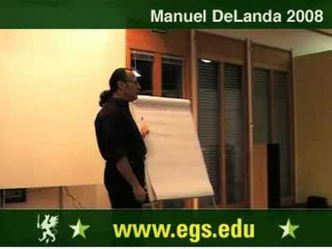 Manuel DeLanda. Materialism, Experience and Philosophy. 2008 6/12