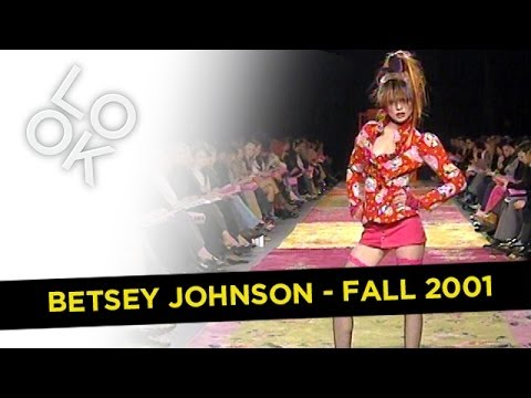 Fashion Flashback: Betsey Johnson Fall 2001