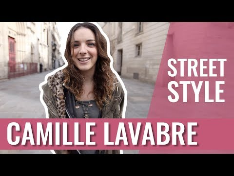 STREET STYLE - CAMILLE LAVABRE