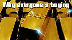 Why gold prices are rising.