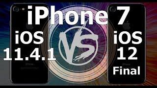 iPhone 7 : iOS 12 Final vs iOS 11.4.1 Speed Test (Build 16A366)