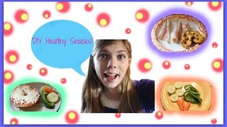DIY Healthy Snacks! Thumbnail