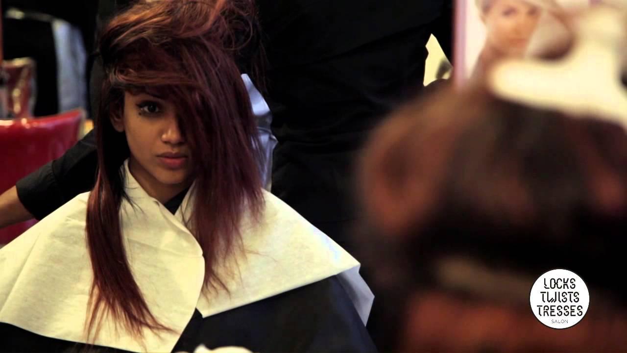 Très Pose de tissage sur cheveux frisés - Locks Twists Tresses Salon  BK66