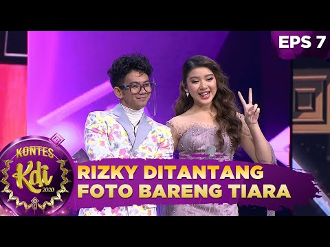 WADUHH!!! Rizki di Tantang Foto Bareng Tiara dan Harus di Upload - Kontes KDI 2020 (14/9)