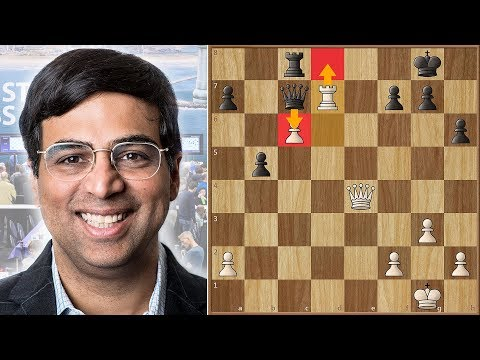 Fortune Favours The Strong | Anand Faces Hou Yifan | Tata Steel Chess 2018. | Round 11
