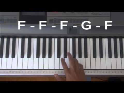 How to Play Pumped Up Kicks on Piano - YouTube