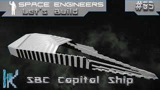 Shadowbound Corp. Capital Ship: Part 5 - Space Engineers Let's Build