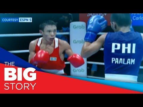 Boxer Carlo Paalam