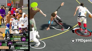 "NBA 2k19 MyPARK - Back 2 Back Ankle Breakers! Playing w/YouTubers! ""Gento Ball"""