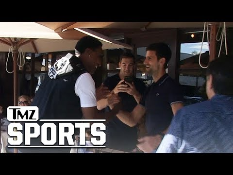 Scottie Pippen Fanboys Out After Spotting 'Tennis Goat' Novak Djokovic