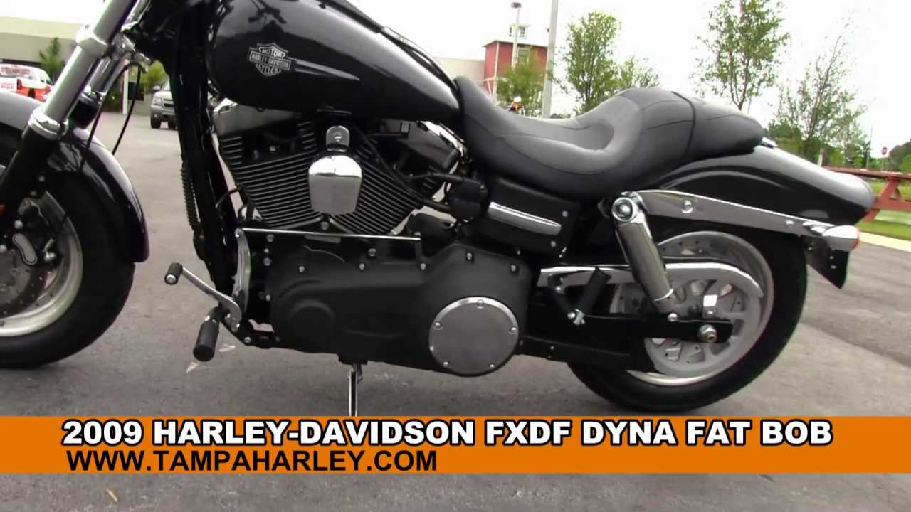 Panama City Harley Davidson >> Used 2009 Harley Davidson FXDF Dyna Fat Bob For Sale Price Review Specs - YouTube