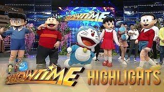 Doraemon &amp Friends visit the madlang people It&#39s Showtime