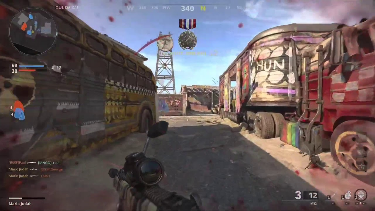 First Cold War Sniping Montage (PS5) | hoax
