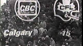 CFL 1970 Western Final Game 3 - coldest Canadian football game ever? (part 14)