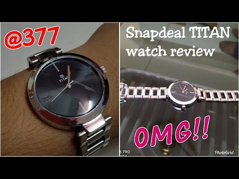 Snapdeal TITAN Watch Review||Cheap And Best Price Watch For College Girls