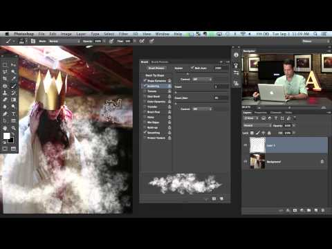 Creating a New Brush In Photoshop