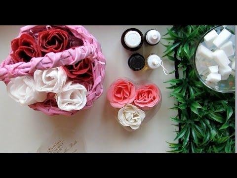 Как сделать цветы из мыла