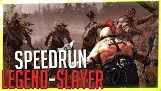 SPEEDRUN, Slayer [Solo/Legend] - Against The Grain, Attempt #1 (Vermintide 2)