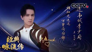 [经典咏流传第三季 纯享版]《万里梦同心》 演唱:迪玛希| CCTV