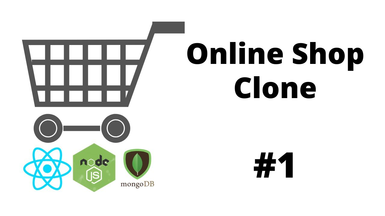 Introduction ( React Project , MERN Stack ) - Online Shopping Mall Clone #1