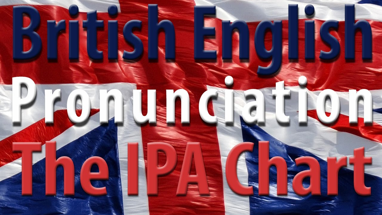 The Ipa Chart Learn English British English Pronunciation Youtube