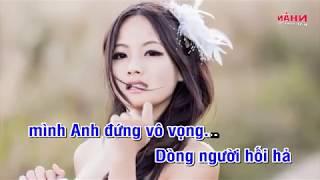 Đừng Ai Nhắc Về Cô Ấy - Karaoke full Beat - Tone Nam - Tone chuẩn