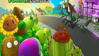 Plants VS Zombies: Walkthrough - Part 1 (HD)