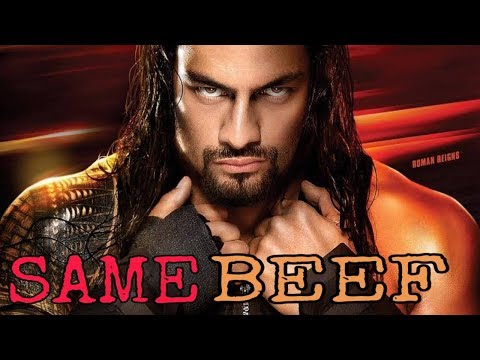 Same Beef  Roman Reigns  Bohemia  Sidhu Moosewala  New Punjabi Songs 2019