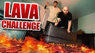Der BODEN ist LAVA Challenge!