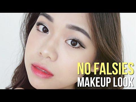 No Falsies Dramatic Makeup Tutorial