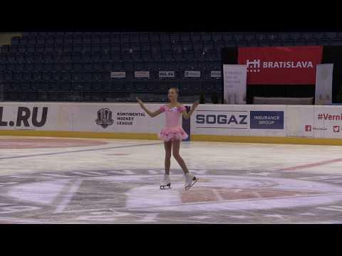 Alexandra Filcová 59th Grand Prix of Bratislava - free skating