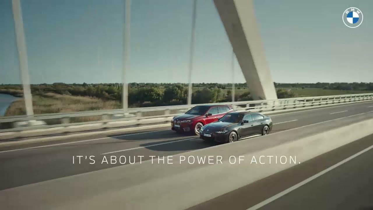 The Power of Action: Meet The First-Ever BMW iX & BMW i4 | BMW USA :06