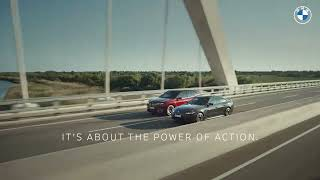 homepage tile video photo for The Power of Action: Meet The First-Ever BMW iX & BMW i4   BMW USA :06