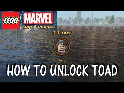 LEGO Marvel Superheroes - How To Unlock Toad - YouTube