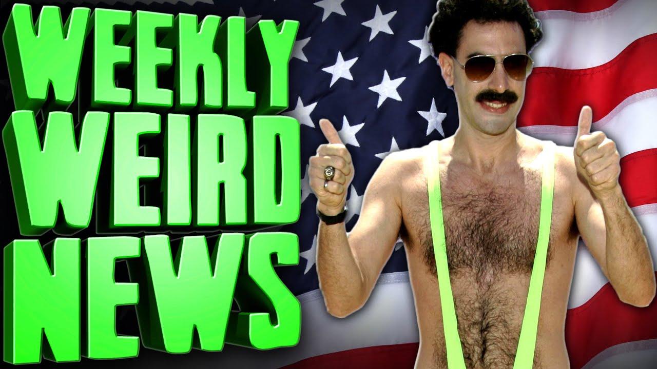 Sacha Baron Cohen Returns at America's Worst Moment Yet - Weekly Weird News
