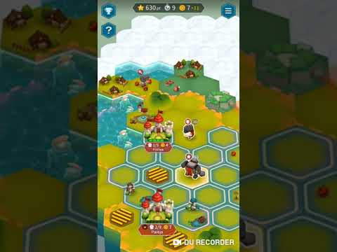 Hexonia, The Best Turn Based Mobile Game!(Part 1)