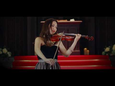 Shooting Of A Christmas Song Violin Performance - Deck The Halls , O Holy Night -