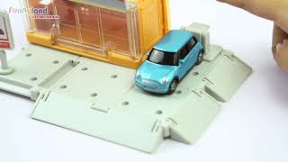 [Unboxing] Tomica Build City - Shop in town Funnyland