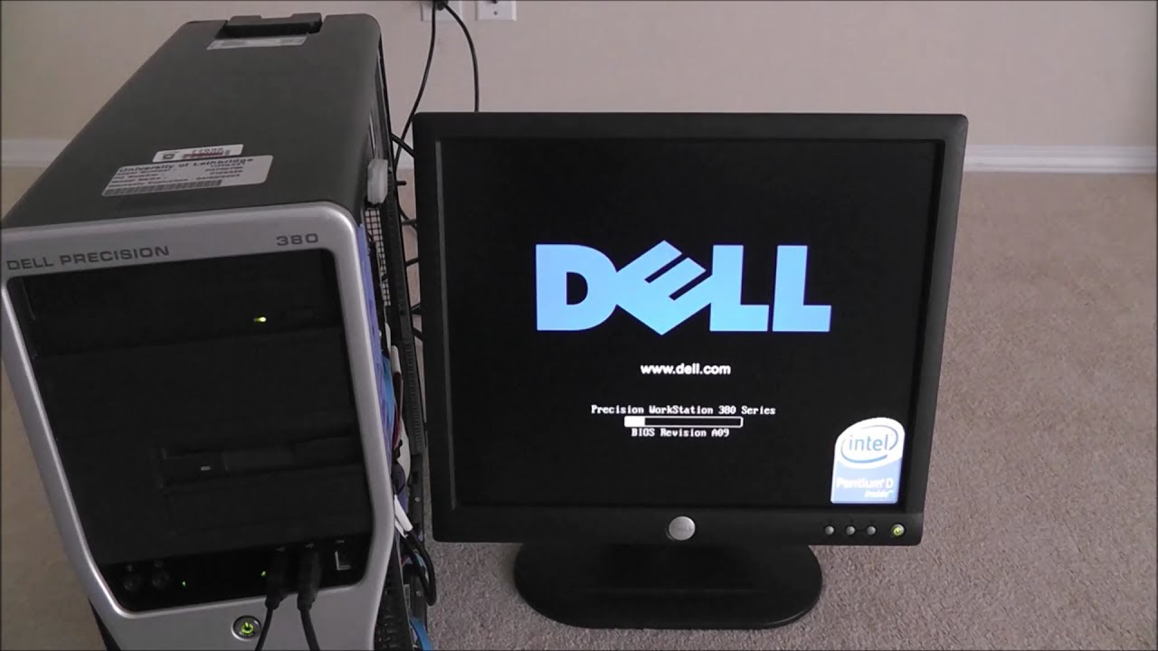 「Old PC Resurrection」Ep 3 Start Up & Setup (feat  Dell Precison 380)