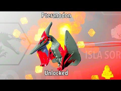 LEGO Jurassic World How to Unlock Pteranodon, Amber Brick Location ...