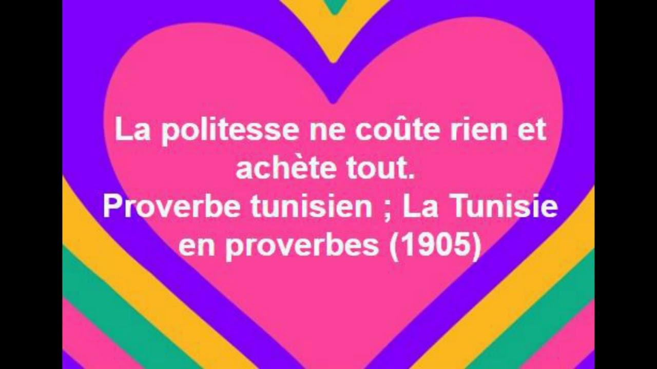 Proverbe Citation 1 La Politesse Ne Coûte Rien Et Achète