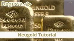 Gold kaufen bei Degussa: So funktioniert's